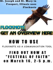 Flocknotes at Festival of Faith