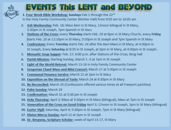 Events2015Lent