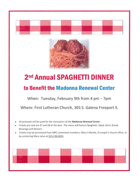 MRC Spaghetti Dinner 2016