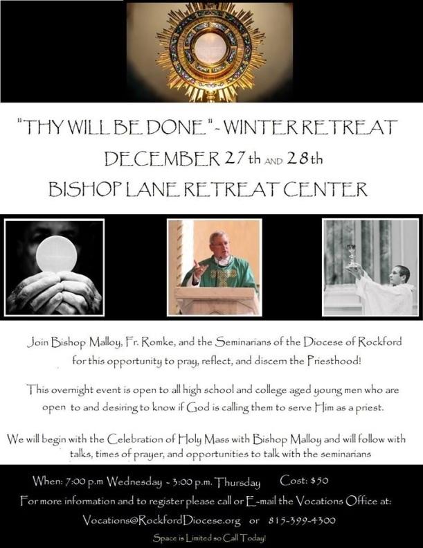 Winter Discernment Retreat 2017